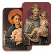 "St.Anthony 3D Bi-Dimensional Cards cm.5.5x8.2- 2 1/8""x 3 1/4"""
