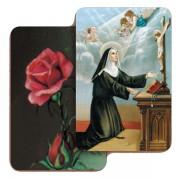 """St.Rita 3D Bi-Dimensional Cards cm.5.5x8.2- 2 1/8""""x 3 1/4"""""""