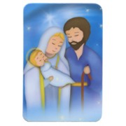 "Holy Family Fridge Magnet cm.4x6 - 2 1/2""x 4 1/4"""