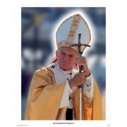 "Pope John Paul II High Quality Posters cm.30x40- 12""x16"""