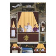 "Pope Francis High Quality Print cm.30x40- 12""x16"""