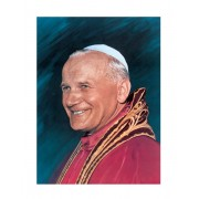 "Pope John Paul II High Quality Print cm.30x40- 12""x16"""