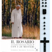 The Rosary Book of Pope John Paul II The 20 Mysteries Italian