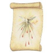 "Holy Spirit Fridge Magnet cm.5x8- 2""x 3 1/4"""