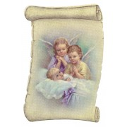 "Guardian Angel Fridge Magnet cm.5x8- 2""x 3 1/4"""