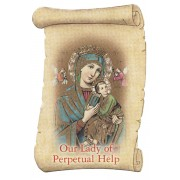 "Our Lady of Perpetual Help Fridge Magnet cm.5x8- 2""x 3 1/4"""