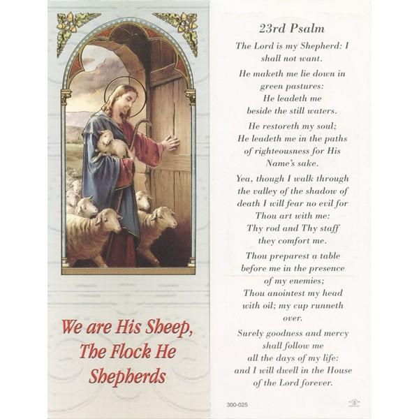 Psalm 23 Bookmark Cm 6x15 5 2 1 2 Quot X 6 1 8 Quot Monticelli
