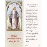 "The Memorare of St.Bernard Bookmark cm.6x15.5- 2 1/2""x 6 1/8"""