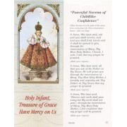 "Powerful Novena of Childlike Confidence Bookmark cm.6x15.5- 2 1/2""x 6 1/8"""