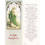 "Prayer to St.Jude Bookmark cm.6x15.5- 2 1/2""x 6 1/8"""