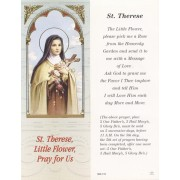 "St.Therese Bookmark cm.6x15.5- 2 1/2""x 6 1/8"""