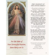 "Chaplet of the Divine Mercy Bookmark cm.6x15.5- 2 1/2""x 6 1/8"""