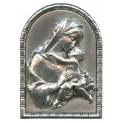 "Pewter Picture Free Standing cm.5.5x4 - 2 1/4""x 1 5/8"""
