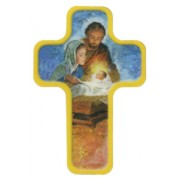 "Nativity Cross Fridge Magnet cm.4x6 - 2 1/2""x 4 1/4"""