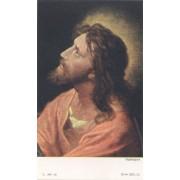 """Holy card of Jesus cm.7x12- 2 3/4""""x 4 3/4"""""""