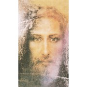 "Holy card of Shroud cm.7x12- 2 3/4""x 4 3/4"""