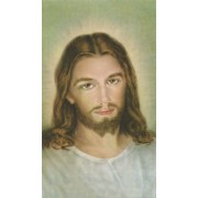 "Holy card of Jesus cm.7x12- 2 3/4""x 4 3/4"""