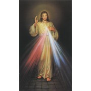 """Holy card of the Divine Mercy cm.7x12- 2 3/4""""x 4 3/4"""""""