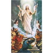 """Holy card of the Resurrection cm.7x12- 2 3/4""""x 4 3/4"""""""
