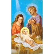 "Holy card of the Nativity cm.7x12- 2 3/4""x 4 3/4"""