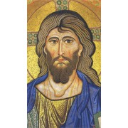 "Holy card of Year of the Faith/ Pantocrator cm.7x12- 2 3/4""x 4 3/4"""