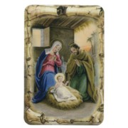 "Nativity Scroll Fridge Magnet cm.4x6 - 4 1/4""x 2 1/2"""