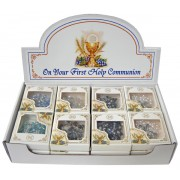 24pc Display of Communion Rosaries