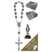 Miraculous Car Statue SCBMC1 with Decade Rosary RD850A-16