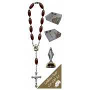 Miraculous Car Statue SCBMC1 with Decade Rosary RD164-2