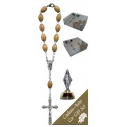 Miraculous Car Statue SCBMC1 with Decade Rosary RDO28
