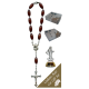Medjugorje Car Statue SCBMC8 with Decade Rosary RD164-2