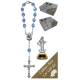 Medjugorje Car Statue SCBMC8 with Decade Rosary RD850-11