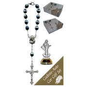 Medjugorje Car Statue SCBMC8 with Decade Rosary RD850A-14