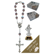 Medjugorje Car Statue SCBMC8 with Decade Rosary RD850A-16