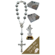 Medjugorje Car Statue SCBMC8 with Decade Rosary RD1480S
