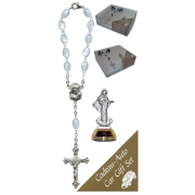 Medjugorje Car Statue SCBMC8 with Decade Rosary RDI28
