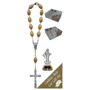 Medjugorje Car Statue SCBMC8 with Decade Rosary RDO28