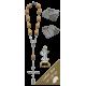 Medjugorje Car Statue SCBMC8 with Decade Rosary RDO28