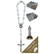 St.Francis Car Statue SCBMC9 with Decade Rosary RDI28