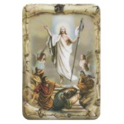 "Resurrection Scroll Fridge Magnet cm.4x6 - 2 1/2""x 4 1/4"""