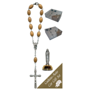 St.Therese Car Statue SCBMC10 with Decade Rosary RDO28