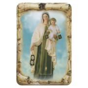 "Mount Carmel Scroll Fridge Magnet cm.4x6 - 2 1/2""x 4 1/4"""