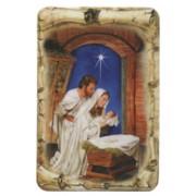 "Nativity Scroll Fridge Magnet cm.4x6 - 2 1/2""x 4 1/4"""