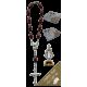 Estatua de coches de Niño de Praga con el rosario década