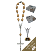 The Resurrection Car Statue SCBMC16 with Decade Rosary RDO28