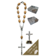 Crucifix Car Statue SCBMC21 with Decade Rosary RDO28