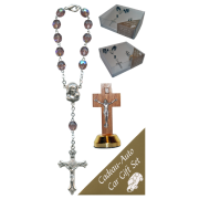 Crucifix Car Statue SCBMC22 with Decade Rosary RD850A-16