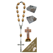 Crucifix Car Statue SCBMC22 with Decade Rosary RDO28
