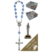 St.Anne De Beaupre Car Statue SCBMC25 with Decade Rosary RD850-11