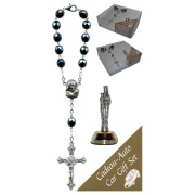 St.Anne De Beaupre Car Statue SCBMC25 with Decade Rosary RD850A-14